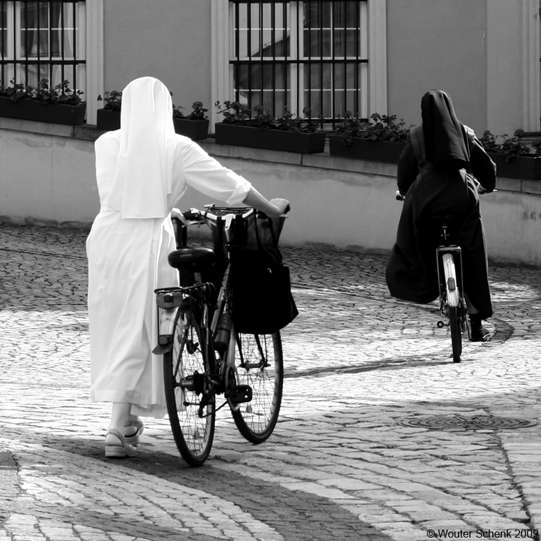 Black & White - Wrocław, Polen. April 2009.