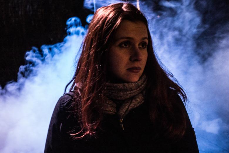 """Winters Portret - Efteling - Genomen in de &quot;Winter&quot; Efteling. Rook is afkomstig van de verschrikkelijke sneeuwman put <img  src=""""/images/smi"""