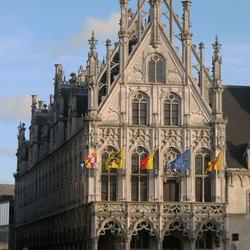 Gotiek Mechelen Grote markt