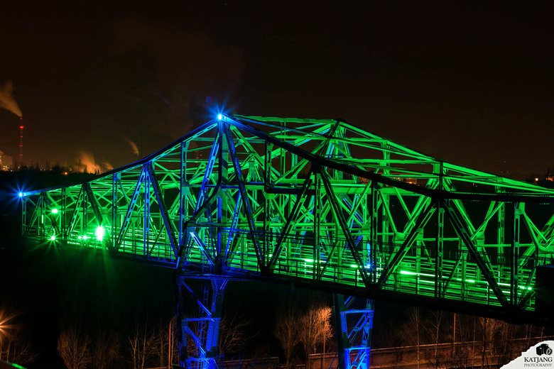 Glowing Bridge