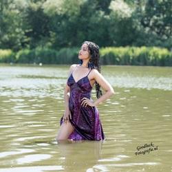 Wet dress