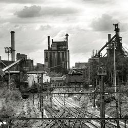 Liège noir et gris