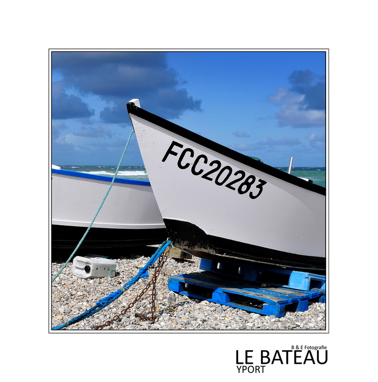 Côte d' Albâtre V - Goedenavond allemaal, we gaan weer verder met onze foto's van Normandie. Vanavond toch nog eentje genomen in Yport, schattig