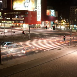 Crossing at Night