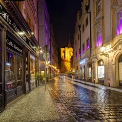 Praag - Staré Mesto - Husova