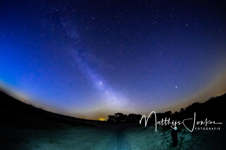 The way - De melkweg van afgelopen nacht, onder perfecte omstandigheden: geen wind, vrijwel geen bewolking en geen maan.
