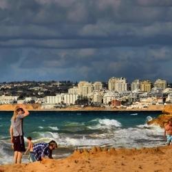 Windy Beach hdr