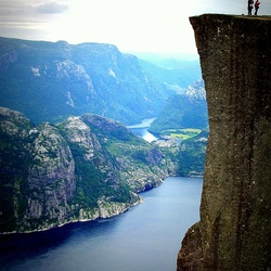 Norway, Preikestolen 2