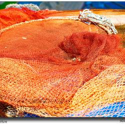 Kleurrijke netten