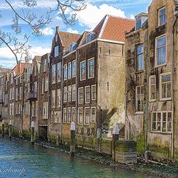 Oude huizen Dordrecht