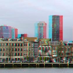 Noordereiland Rotterdam in stereo