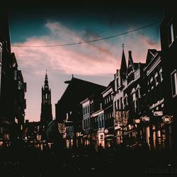 Amersfoort by sunset