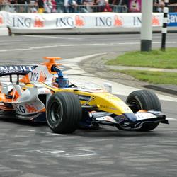 Formule 1 demonstratie!