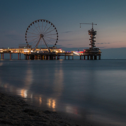 Scheveningen in the evening