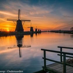Sunrise and mills
