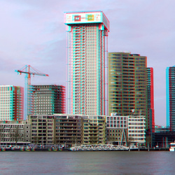 Sky-line Rotterdam 3D