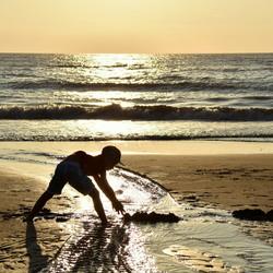 Gelukkig worden we beschermd tegen naderend water...