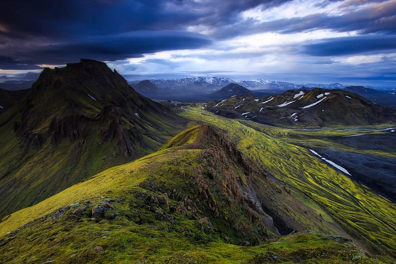 Emstrur, Iceland - Genomen bij zonsondergang!