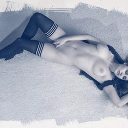 liggend naakt