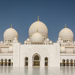 sjeik zayed moskee in abu dhabi