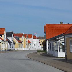 straatje in Jutland (Lokken)