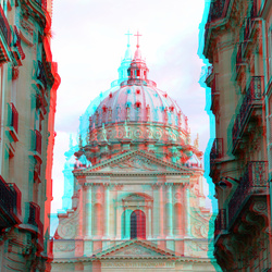 Catholic Church of the Val-de-Grâce Paris 3D