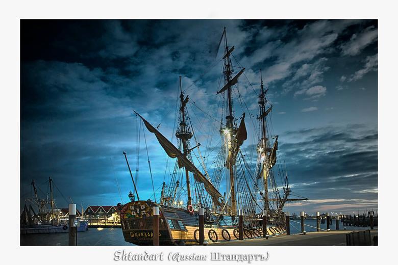 Russisch zeilschip 'Shtandart'