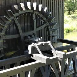 P1120419 Waterrad Noordermolen nabij Delden 30 juli 2020