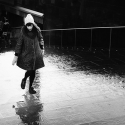 Meisje na de regen