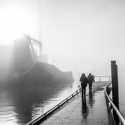 Molen de Ooievaar in Zaanstad