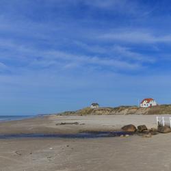 Noordzeestrand in Jutland (Lokken)