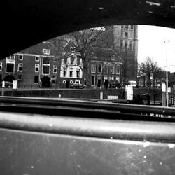Dordrecht door het oog van de afvalbak