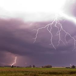 Storm aan de Lekdijk