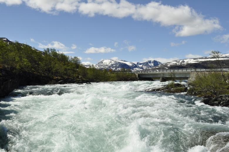 Rivier in Jotunheimen - Rivier in Jotunheimen