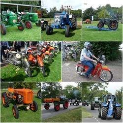 FotoJet Collage Tractoren en Brommer festival s Gravenzande 3sept 2016