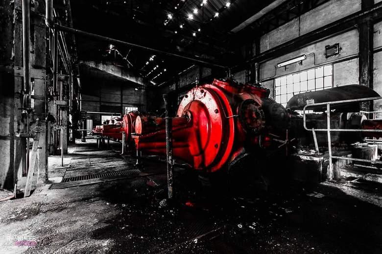 Verlaten industriegebouw  -