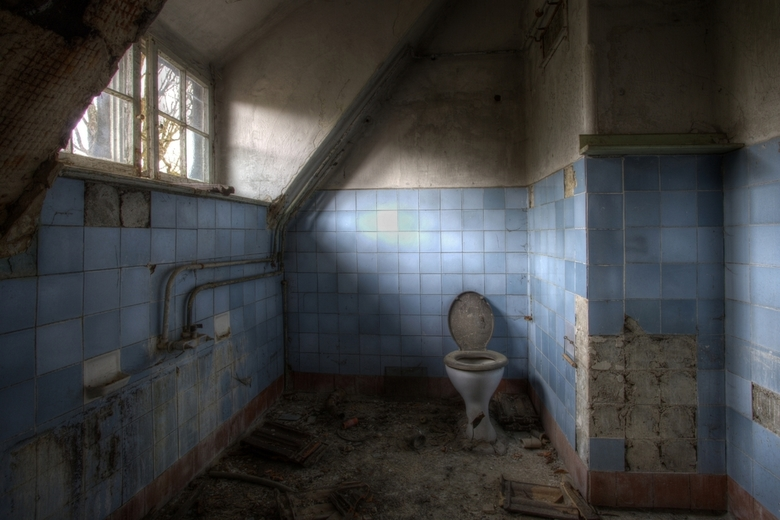 Beelitz 44 - Toilet is vrij.....