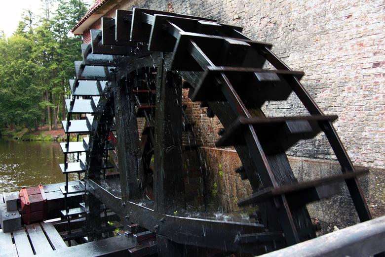 Waterschoep bij Singraven - Waterschoep bij watermolen Singraven bij Denekamp