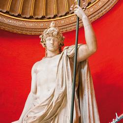Beeld in Vaticaan van Rome