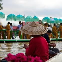 Kleurrijk festival op het water