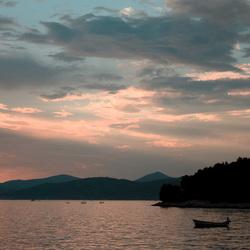 Sunset Adriatische Zee