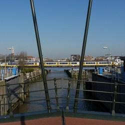 P1310419 Rondje Maassluis nr9 Coppelbrug doorkijk 13 feb 2015