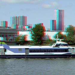 Waterbus 3D  Lumix GF3 stereo-set basis 53cm