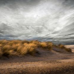 storm over de duinen