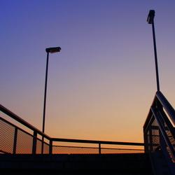 Loopbrug over betuwelijn