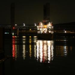 Calandburg by night
