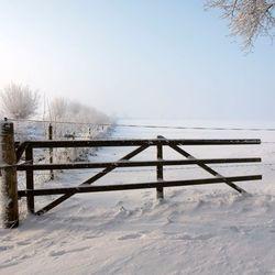 Hek in de sneeuw 2