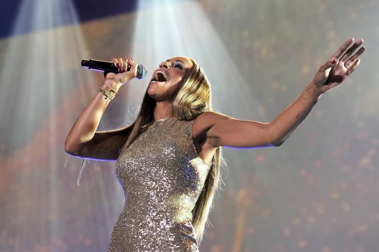 Glennis Grace concert in de Heineken Music Hall Amsterdam - AMSTERDAM - Glennis Grace gaf in 2012 haar eerste eigen concert in een uitverkocht Heineke