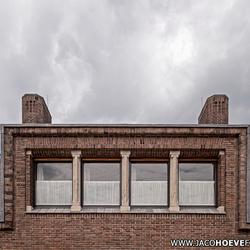 Symmetrie in de architectuur.
