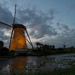 Kinderdijk verlicht 2011
